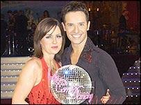 Jill Halfpenny and Darren Bennett