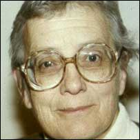 Baroness Warnock pictured in 1990