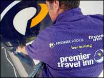 Premier Travel Inn worker