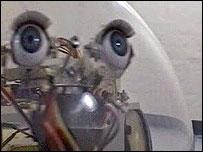 One of Paul Granjon's robots