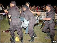 Colombo blast scene in December