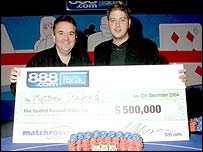 Matthew Stevens and Phil Taylor (Pic: Don Lester)