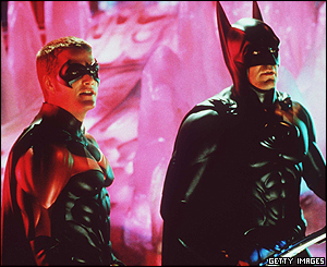 The dynamic duo were back two years later in the aptly named Batman and Robin.