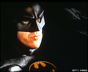 Two decades later director Tim Burton brought the dark knight back to cinemas in the 1989 hit Batman, and again in Batman Returns in 1992.