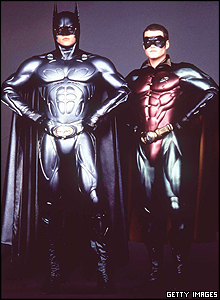 When Batman returned to the big screen in the 1995 film Batman Forever, he was rejoined by his crime-fighting sidekick Robin.