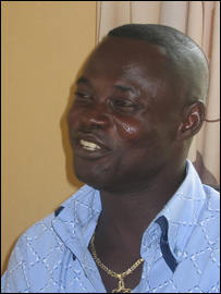 Former Ghana striker Nii Odartey Lamptey
