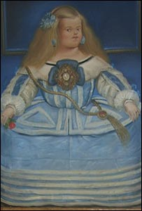 Una de las pinturas de Fernando Botero