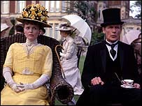 Miranda Richardson and Bill Nighy in The Lost Prince