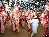 Beef market in France