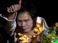 Japanese Elvis impersonator