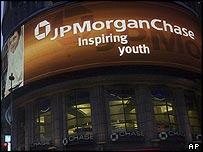 JP Morgan Chase branch in New York City