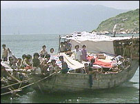 Vietnamese boat people (archive picture)
