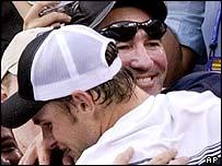 Andy Roddick and Brad Gilbert