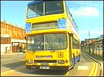 A Yellow Buses vehicle