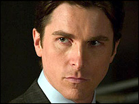 Christian Bale in Batman Begins