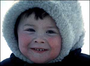 Khanty child in Siberia. Copyright: Survival International