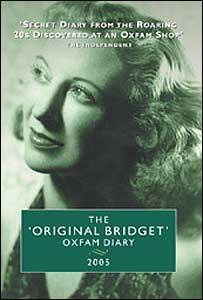 The 'Original Bridget' Oxfam Diary - pic courtesy of Oxfam