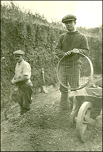 Excavations from 1920s