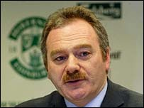 Petrie is a long-standing member of the Hibs board