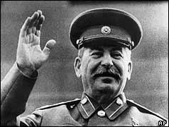 Soviet dictator, Joseph Stalin