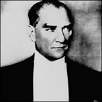 "Mustafa Kemal Ataturk - the so-called ""father of the Turks"""