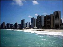 Fortaleza skyline
