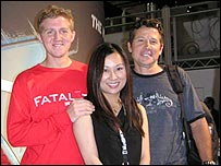 Fatal1ty with fans at the recent E3 games expo in Los Angeles