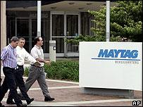 Maytag headquarters in Newton, Iowa