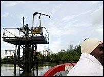 Нефтепромыслы Shell в Нигерии