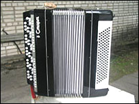 Accordion (picture from Belarusian Defence Ministry site voentorg.by)