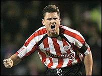 Brentford match-winner Stewart Talbot