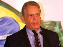 Ex presidente de Brasil Fernando Enrique Cardozo.