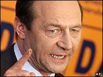 El president romanès Traian Basescu
