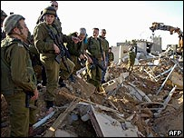 Israel senior army staff visit scene of Hamas attack