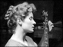 Shirley Collins shortly before the 1959 trip (Shirley Collins collection)