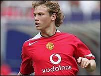 Manchester United's Jonathan Spector