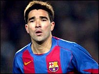 Barcelona's Portuguese midfielder Deco