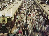 Mumbai commuters