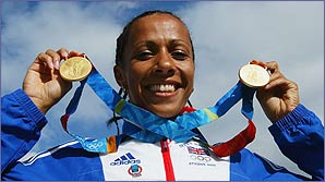 Kelly Holmes was Laura's star of the Olympics