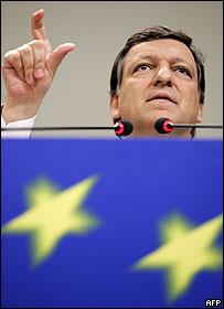 José Manuel Barroso, presidente de la Comisión Europea
