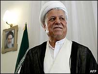 Front-runner Akbar Hashemi Rafsanjani