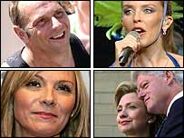 Steve Redgrave, Kylie, the Clintons and SATC's Kim Cattrall