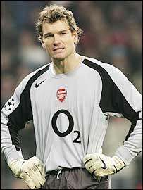 Arsenal keeper Jens Lehmann