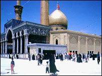 Imam Hussein shrine, Karbala (file photo)