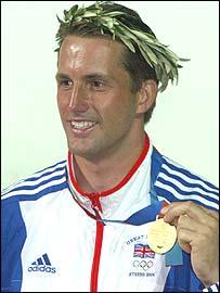 British sailing gold medallist Ben Ainslie