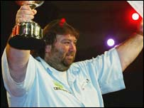 World darts champion Andy Fordham
