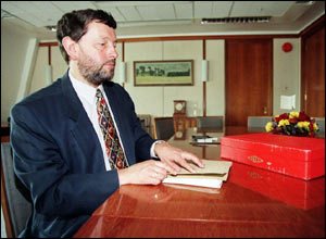 In Tony Blair's first government, he served as education and employment secretary.