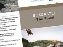 Boscastle leaflet