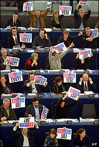 MEPs vote Yes to Turkish accession talks