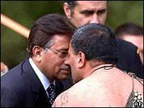 Pervez Musharraf in New Zealand